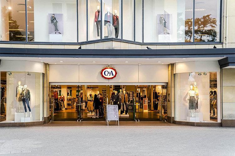 Referenz Kompass Holding: C&A in Nürnberg